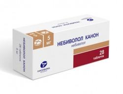 Небиволол Канон, табл. 5 мг №28